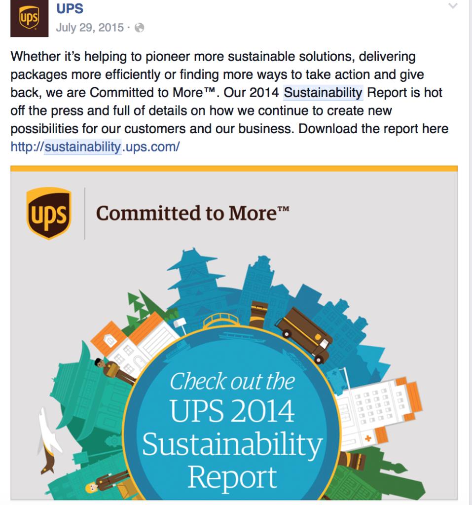 Cristina Balan sustenabilitate UPS