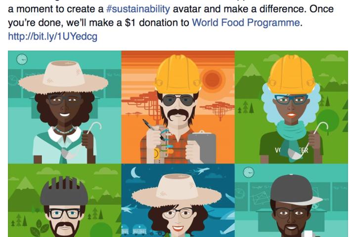Sustenabilitatea, comunicată pe Facebook la diferență de un leu